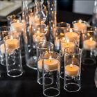 24 Blown Glass Mini Tealight Luminaries Wedding Decorations Centerpieces Q17641