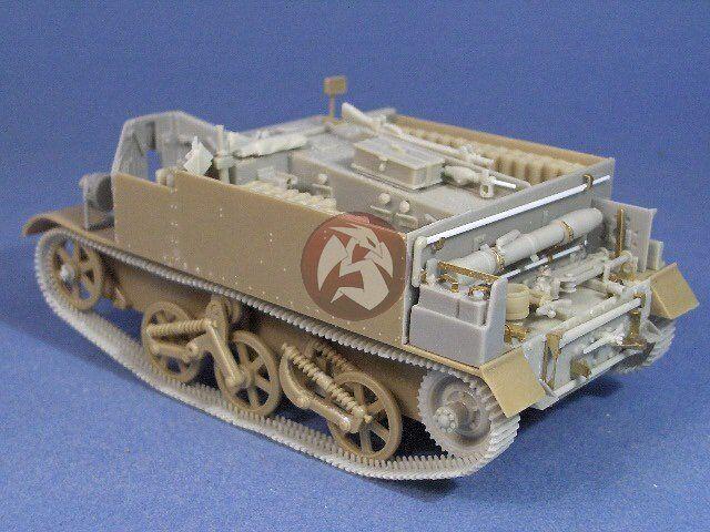 Resicast 1 35 3 Inch Mortar Carrier Mk.I Conversion Set (for Tamiya) 351207