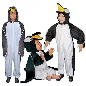 Image is loading Dress-up-America-Kids-Adults-Penguin-Plush-Costume-  sc 1 st  eBay & Dress up America Kids Adults Penguin Plush Costume Fancy Dress ...