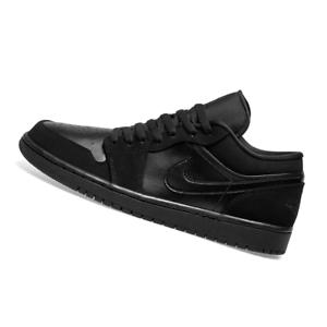NIKE-MENS-Air-Jordan-1-Low-Black-553558-025