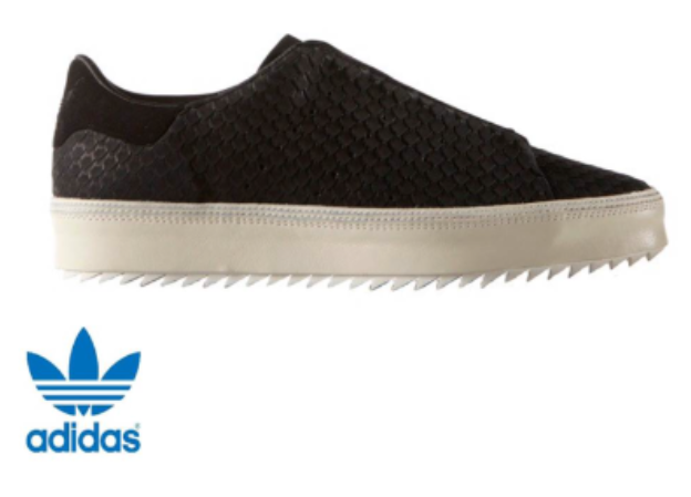 ladies/womans adidas exterior originals point court trainers with leather exterior adidas c65560