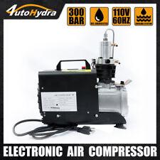 4utohydria 30mpa 4500psi Pcp Air Compressor 110v High Pressure Pump Auto Stop