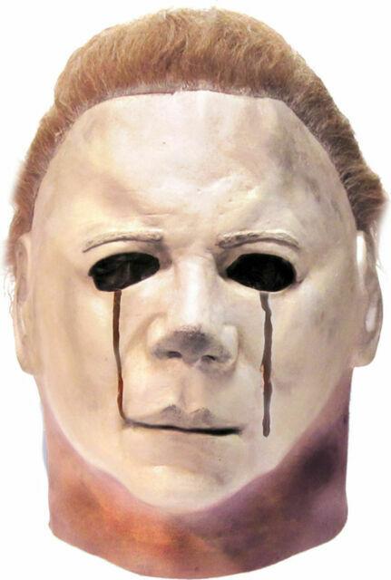 Halloween 2020 Michael Myers Mask Ebay Trick or Treat Studios Halloween II Blood Tears Michael Myers