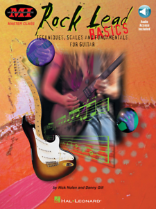 Musical Instruments & Gear Rock Lead Guitar-basics Music Book/audio Access-tech./scales/fundamentals-new!!