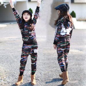 Street Dance Wear Costume Girls Boy Performance Modern Kids Hip Hop