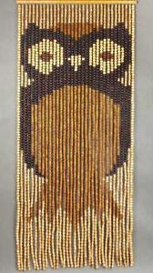 Raumteiler Vorhang Selber Machen : t rvorhang holzperlen vorhang massivholz eule 90cm ebay ~ Watch28wear.com Haus und Dekorationen