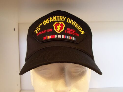 #1721 25th Infantry Division Iraqi Freedom Ballcap Cap Hat