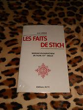 LES FAITS DE STICH - Jean Lenoir - D.F.T, 1985