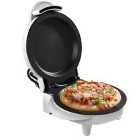 Chef Buddy Mini Pizza Frittata Maker with Cool-Touch, 750 Watt, White