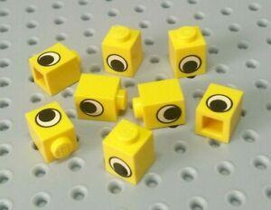 Lego Yellow Brick 1x1 with eye 10 pieces NEW!!!