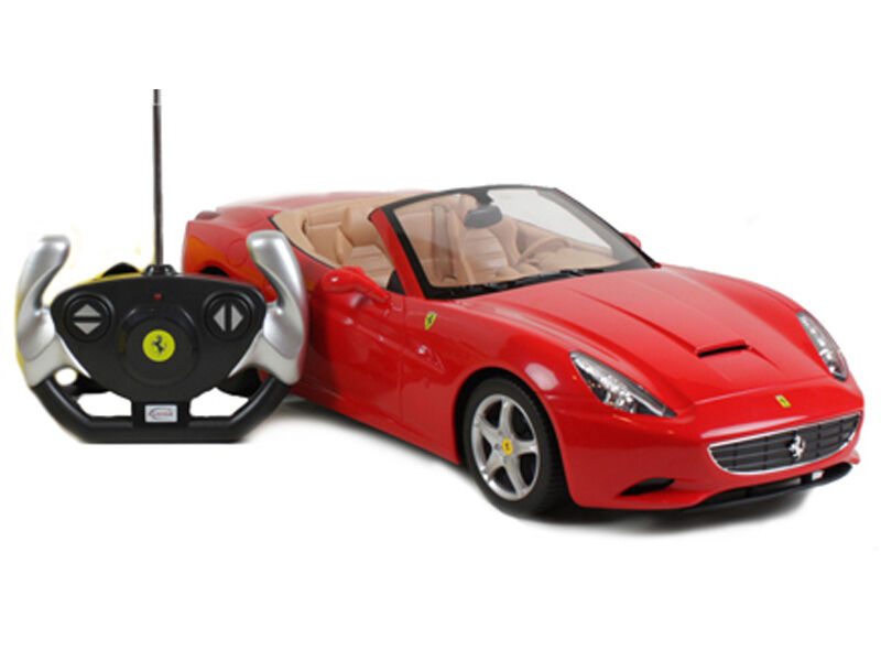 Rastar Licensed Ferrari California 1 12 Scale Radio Remote Control RC Car Toy