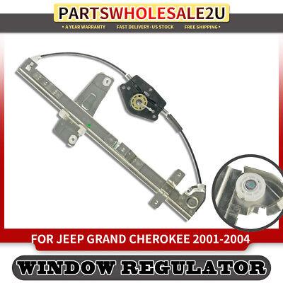 Window Regulator for Jeep Grand Cherokee 2000-2004 4.0 4.7 W//Motor Front Left