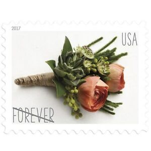 Usps Wedding Stamps.Details About One Book Of 20 Flower Rose Love Wedding Usps First Class Forever Postage Stamps