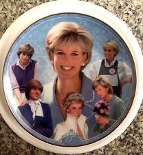 "DIANA ""THE PEOPLE'S PRINCESS"" Danbury Mint Collector PLATE Royal Worcester NEW"