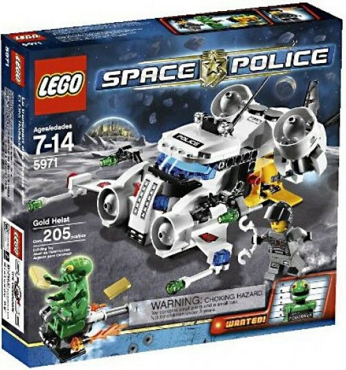 LEGO Space Police Gold Heist Set  5971