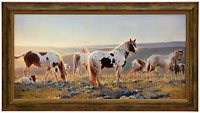 Nancy Glazier WELCOME THE DAWN Framed CANVAS Signed & Numbered - Limited Edition