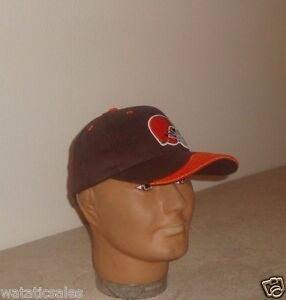 Cleveland-Browns-Baseball-Hat-NFL-Football-NEW-Adult-OSFA-Free-Shipping