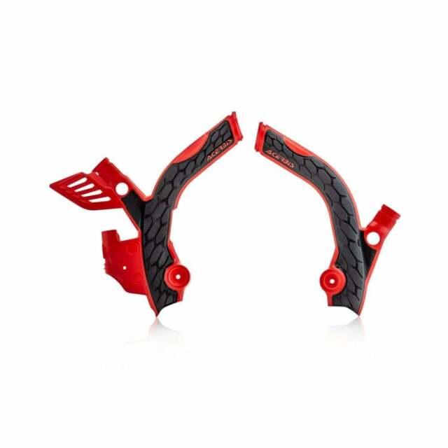 Beta 200 RR 2t 2 Stroke 2019 Acerbis Red & Black Frame Guards