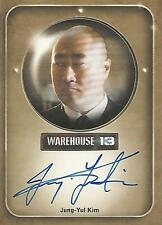 "Warehouse 13 Season 2 - Jung-Yul Kim ""Mrs Frederic's Bodyguard"" Autograph Card"