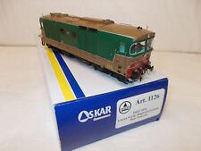 Oskar, 1126, FS Locomotiva Diesel D 445 1031, 1/a serie, vetri curvi.