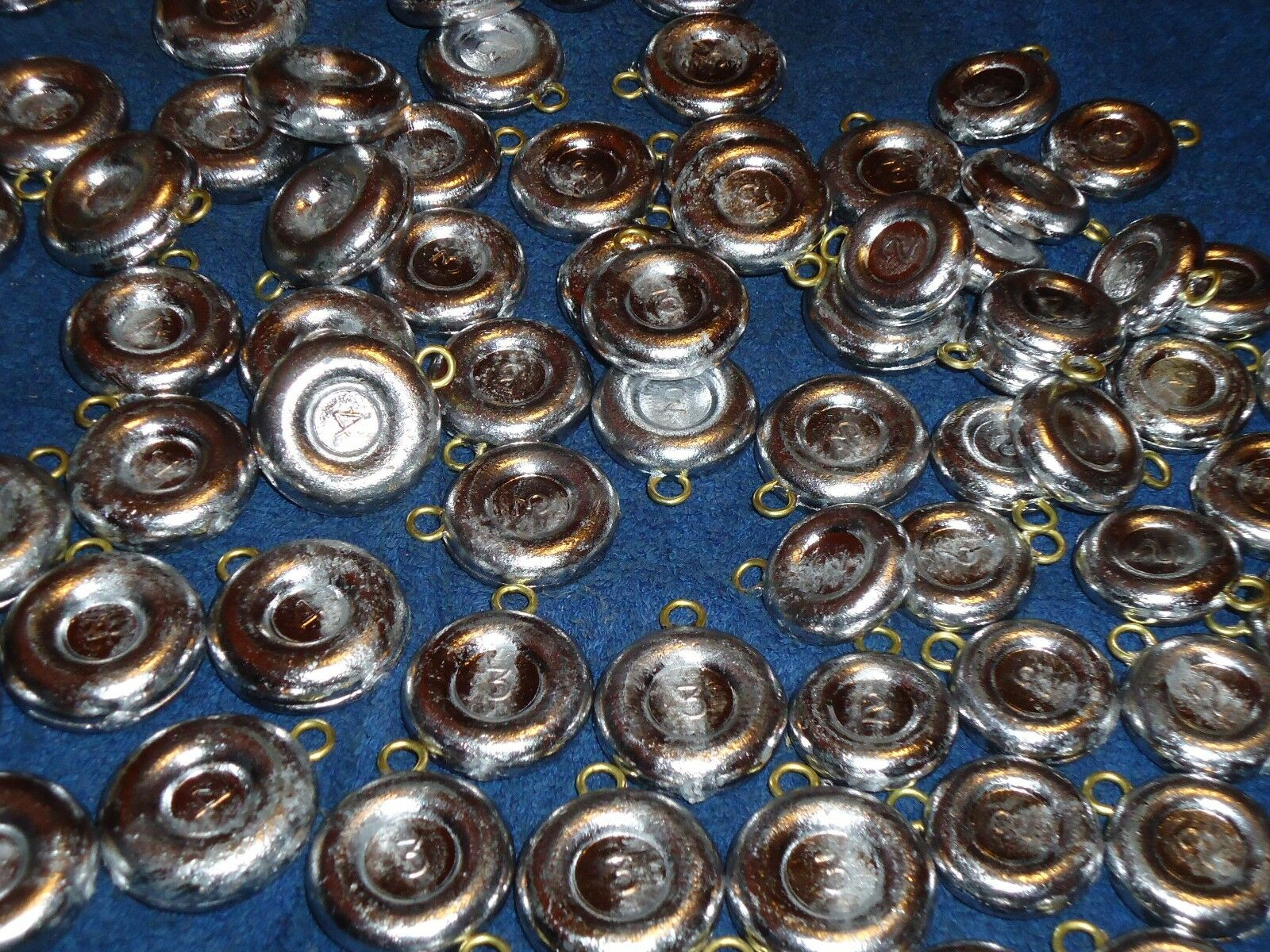Egg Sinkers 20 PACK 1//2 oz