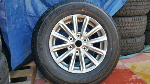 Nuevo Mitsubishi bárbaro L200 Aleación Rueda /& Neumáticos Bridgestone 245//65 R17