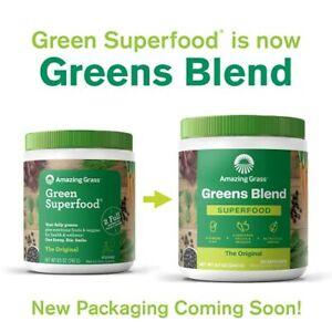 Amazing Grass Greens Blend Superfood: Super Greens Powder 30 Servings