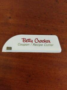 Vintage-Betty-Crocker-Coupon-recipe-Cutter-RARE-free-shipping