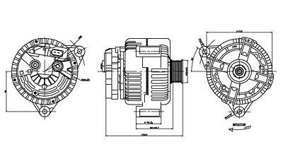 2-13884 TYC 2-13884 Alternator