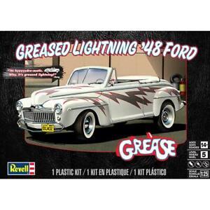 REVELL-4443-1-25-Greased-Lightning-1948-Ford-Convertible-Model-Car-Kit-FREE-SHIP