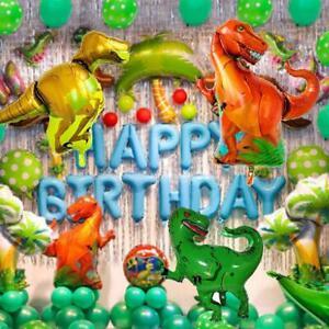 Film-Dinosaur-Theme-Foil-Balloon-Aluminum-Party-Aluminum-Decoration