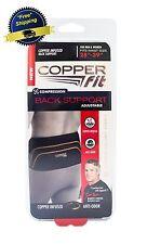 Copper Fit Back Pro Brace Waist Support L Compression Lower Belt Lumbar Tommie