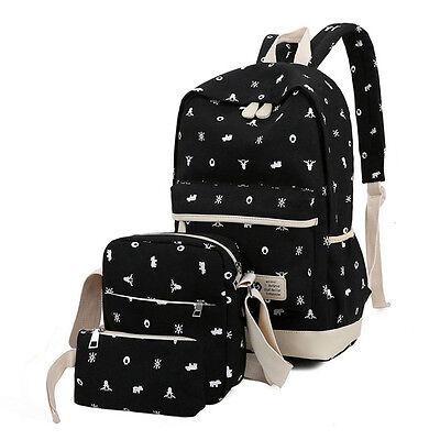 Women Girl bags Backpack School Fashion Shoulder Bag Rucksack Canvas Travel bags