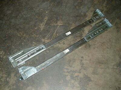 Dell PowerEdge R710 Server Sliding Rail Kit P242J M997J Left//Right-Hook broken