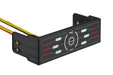 """Aerocool F6XT 5.25"""" Fan Controller 6 Fan Control Speed Adjustable Dual LED"""