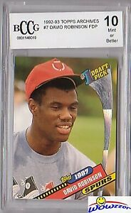 1992-Topps-Archives-7-David-Robinson-Beckett-10-MINT