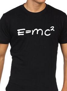 E-Mc2-Einstein-Uomo-T-Shirt-Scienza-Equazione-Formula-Matematica