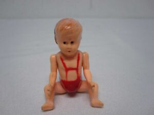 RARE-VINTAGE-IDEAL-BABY-DOLL-DOLLHOUSE-MINIATURE-1-16-PLASTIC-2-3-4-034