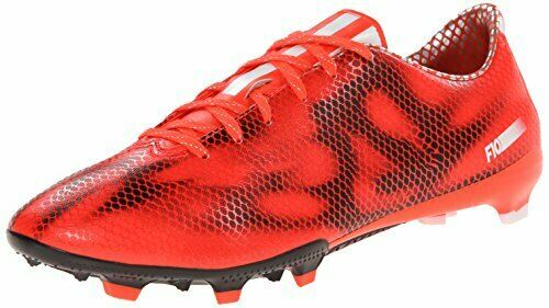 ADIDAS F10 FG Mens Soccer Cleats Red Size 11