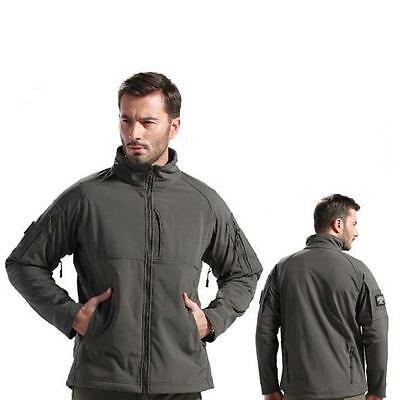 Sport Gunfighter Combat Jacket Soft Shell Sharkskin Tech Military Foliage Coat
