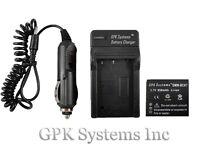 Panasonic Lumix Dmc-fh2 Dmc-fh4 Dmc-fh5 Digital Camera Battery + Charger