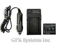 Panasonic Lumix Dmc-fh2 Dmc-fh4 Dmc-fh5 Digital Camera Battery + Charger