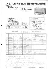 Blaupunkt Service Manual für Florenz 20350