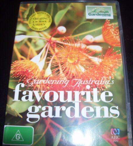 1 of 1 - Gardening Australia Favourite Gardens (ABC TV) (Australia Region 4) DVD