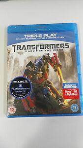 Transformers Dark Of The Moon Blu-Ray + DVD + Digital Copy Castillan Neuf - Am