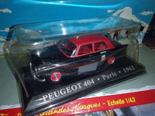 Ixo 1//43 taxi peugeot 404 paris 1962 new in blister