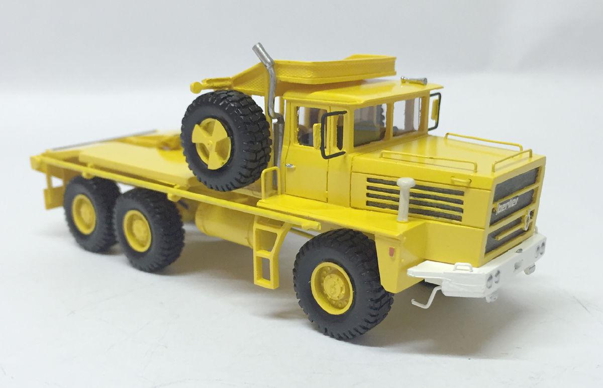 Fertig Modell Resin HO 1 1 1 87 BERLIET GPO 17P 6X6 - 1968 - Fankit Models 742