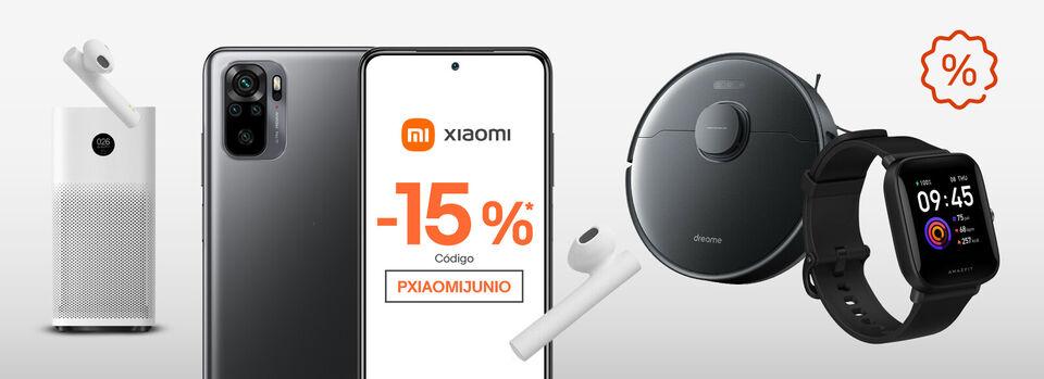 Canjea tu cupón - -15%* en Xiaomi