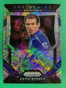 2020-21 Prizm EPL Premier League CHOICE Signatures Autograph Auto : Arjen Robben