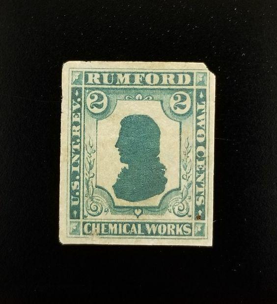 Rumford Chemical Works 2c U.S. Internal Revenue RS207d